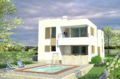 Die Villa liegt in der Nähe von Zadar
