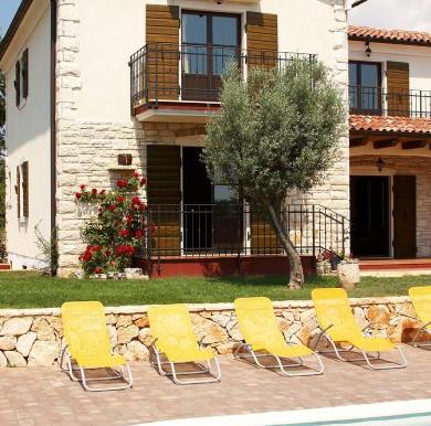 Mediterranische Villa in Istrien (1)