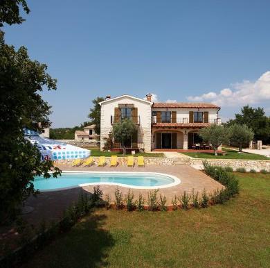 Mediterranische Villa in Istrien (2)