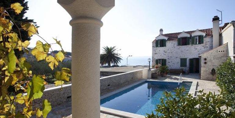 Schöne Steinvilla auf der Insel Brac  (12)