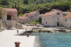 Steinhaus auf der Insel Lastovo