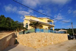 Haus auf der Südseite der Insel Korcula