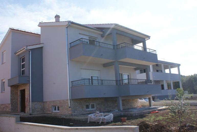 Attraktives Haus mit wunderschönem Blick auf das Meer